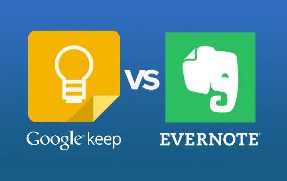 Google Keep vs Evernote: argumente pro și contra celor două soluții de productivitate
