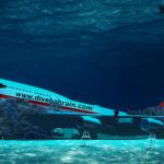 Bahrain va inaugura în august un parc subacvatic cu un avion scufundat
