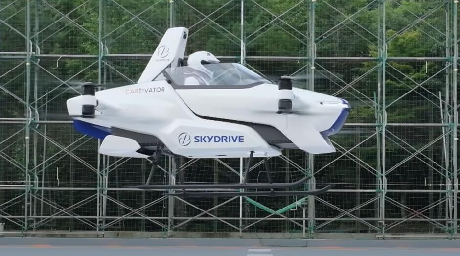 O companie finanțată de Toyota testează mașina zburătoare – VIDEO