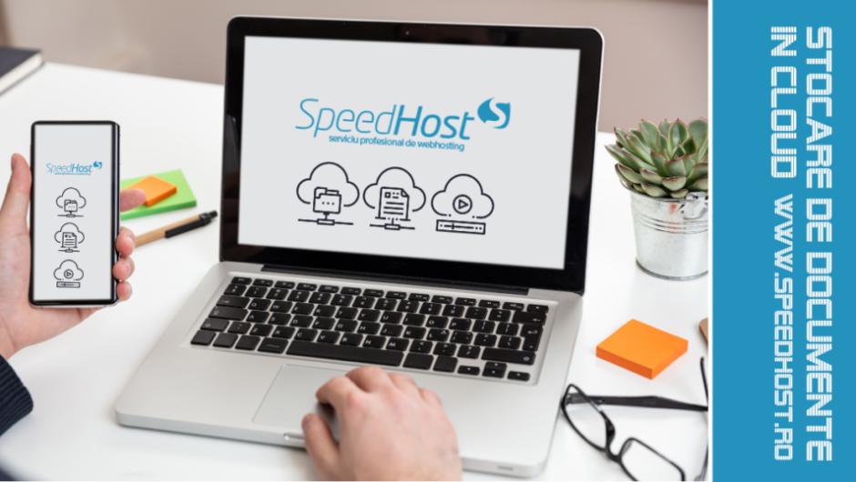 SpeedHost.ro lansează serviciul de stocare de documente în cloud